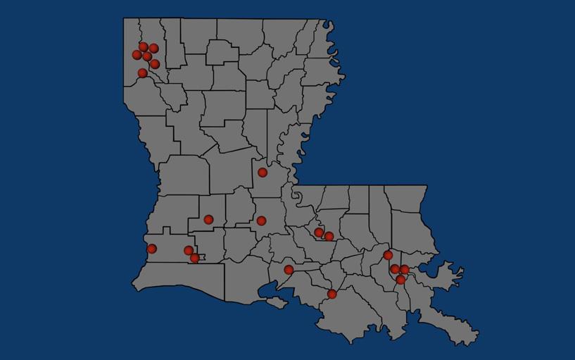 Map of louisiana casinos atlantis lost city movie shuttle casino